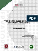 Fatti e cifre sull'alcol in Piemonte Bollettino 2013