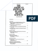 American Journal of Islamic Social Science