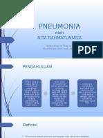 PPT Referat Pneumonia Nita