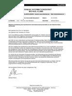 Informationswissenschaft Düsseldorf - Schliessung - Offener Brief von Michael Klems