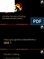 Lecture 8_Naturalistic Decision Making