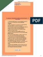 Le Passé Composé _(Verbes Pronominaux_) - 4