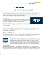 Tips for Older Workers
