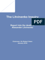 Litvinenko Inquiry Report Web Version