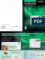 Oil Free Screw Compressor Brochure