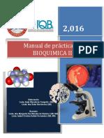 Manual Bioquímica III