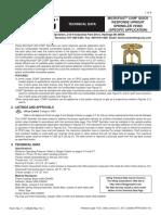 Technical Data for Specific Application - MQR Coin Sprinkler