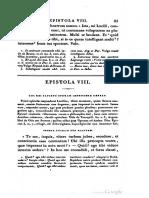 Lucius Annaei Senecae Epistola VIII (Bouillet)
