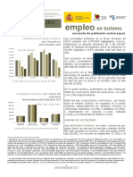 Nota de Coyuntura de La EPA en El Sector Turístico. III Trimestre 2013