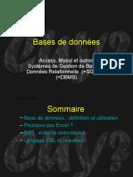 Bases de Donnée &²