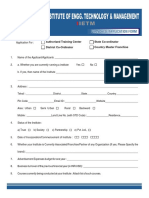 IIETM Application Form