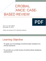 11.18.15 Antimicrobial Resistance Vignettes Review Lee