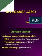 Interaksi Jamu