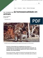 O Mistério Da Homossexualidade Em Animais - BBC Brasil
