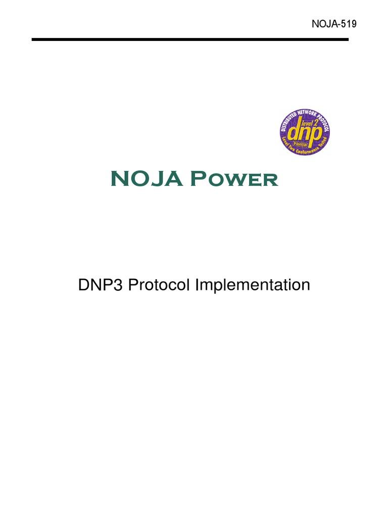 NOJA-519-07_DNP3_Protocol_Implementation pdf | Electronics