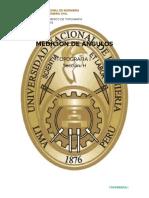 Topografia i - Medicion de Angulos Con Teodolito
