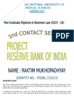 RBI - Its Role and Power