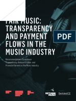 Fair Music - Transparency and Payment Flows in the Music Industry