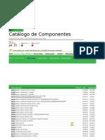 Indice Catálogo de Componentes