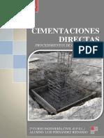 CIMENTACIONES DIRECTAS