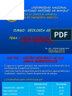 7 GEOLOGIA - Accion Geologica de Las Aguas Superficiales