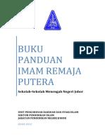 Buku Panduan Imam Remaja (Putera) 2015