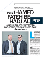 Interview Mohamed Fateh BEL HADJ ALI