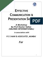 Presentation Skills Handbook