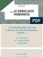 02. Curso Comunicadores/as - Quiz DDHH