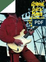 Guitar Tab Book - Gary Moore - Original Tab Book