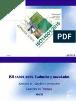 ISO 14001 2015_Evolución y Novedades