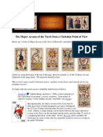 The Major Arcana of the Tarot From a Christian Point of View