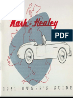 51 Nash Healey Owners Manual