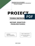 Problematizare Proiect PDF