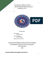 Analisis Dan Perancangan Sistem Informasi Perpustakaan Kampus UTY