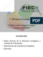 7. Eficiencia Energetica