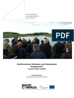 Multifunctional Wetlands and Stakeholder Engagement