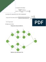 Diagramas de precedencia