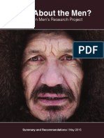 What About the Men? Northern Men s Research Project Summary Report