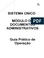 Manual Sistema Unico Versão Classica