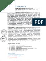 Convenio UNIVERSIDAD CESAR VALLEJO Y Fed Cut