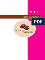 Dulce Capricho, Proyecto Final