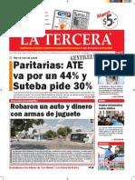 Diario La Tercera 21.01.2016