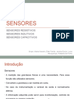 Sensores Capacitivos, Indutivos e Resistivos