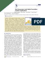 Crystallization of Methyl Ammonium Lead Halide Perovskites Implications for Photovoltaic Applications
