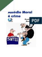 Assedio Moral e Crime - Previna-se Denuncie (SINTTEL - DF)