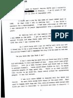 Russell Warren Smith Statement in the Alphonse Gangitano murder case