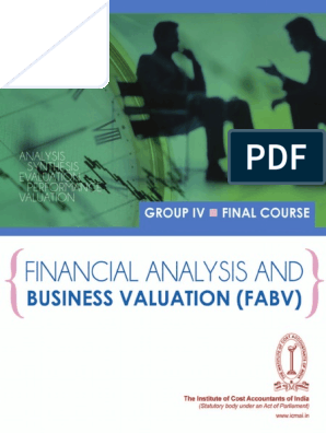 Final Paper20 Revised Business Valuation | Valuation (Finance
