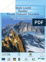 Monti Lessini Pasubio Piccole Dolomiti