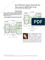 Optimum Sizing of Wireless Sensor Networks for Smart Home Based on IEEE 802.15.4g